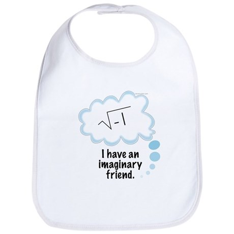 (2) Imaginary Friend Bib