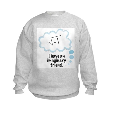 (2) Imaginary Friend Kids Sweatshirt