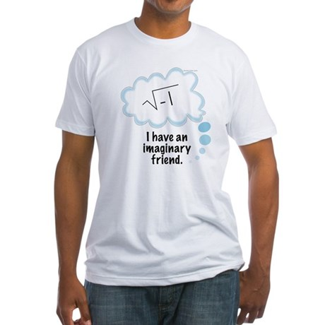 (2) Imaginary Friend Fitted T-Shirt
