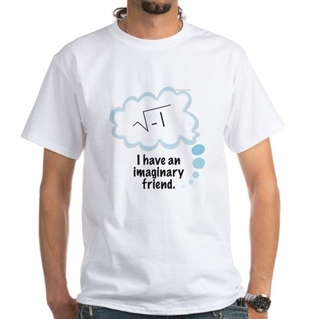 (2) Imaginary Friend White T-Shirt