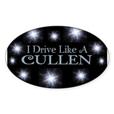 I drive like a Cullen Bumper Stickers