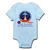 Last Flight of Discovery Infant Bodysuit