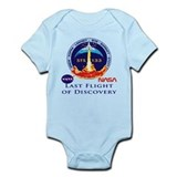 Last Flight of Discovery Onesie