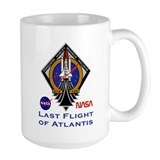 Last Flight of Atlantis Coffee Mug