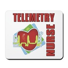 Telemetry Nurse Mousepad
