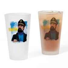 Captain Haddock Drinking Glass