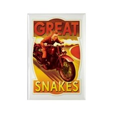 Great Snakes Rectangle Magnet