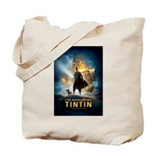 Tintin Movie Tote Bag