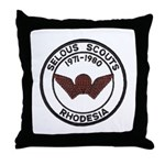 Selous Scouts Throw Pillow