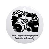 Felix Unger Photographer Ornament (Round)