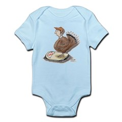 Thanksgiving Turkey Scale Infant Bodysuit