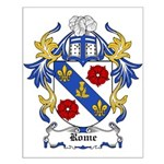 Rome Coat of Arms Small Poster