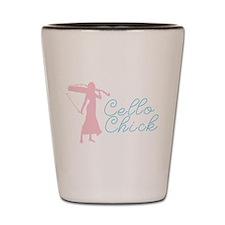 Cello Chick Shot Glass