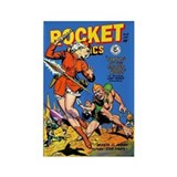 Rocket Comics #55 Rectangle Magnet