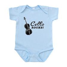 Cello Rocks Infant Bodysuit