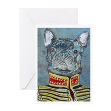 """Frenchie"" Greeting Card"