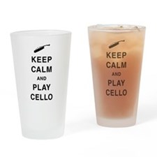 Play Cello Drinking Glass