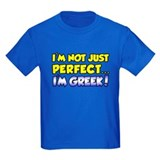 Not Just Perfect - Greek T