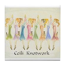 Cool Irish dance Tile Coaster