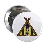 "Cute Viking Warrior at Tent 2.25"" Button 100"