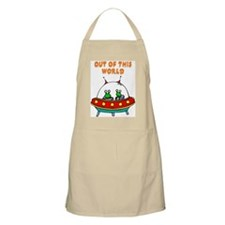 """Out Of This World"" BBQ Apron"