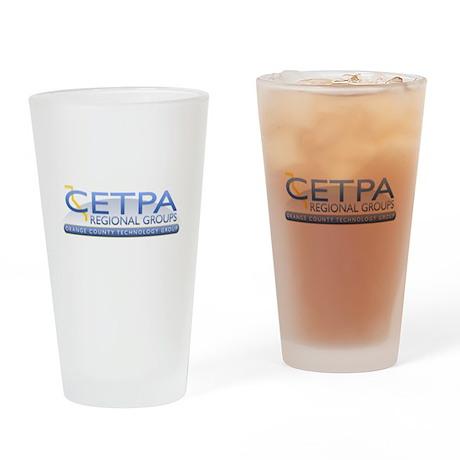 Orange County - Drinking Glass