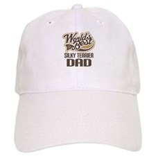 Silky Terrier Dad Baseball Cap