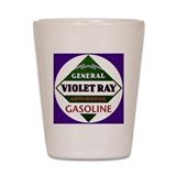 Violet Ray Gasoline Shot Glass
