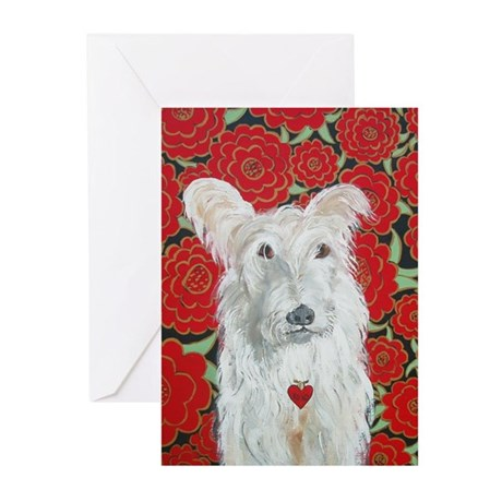"""""""Terrier Love"""" Greeting Cards (Pk of 20)"""