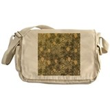 William Morris Pattern Messenger Bag