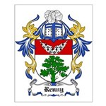 Renny Coat of Arms, Family Cr Small Poster
