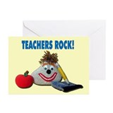 Teachers Rock! Greeting Cards (Pk of 10)