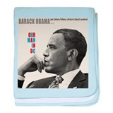 Barack Obama OUR MAN IN D.C. Jazz Album Cover baby