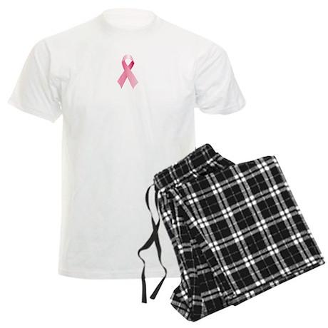 Pink Ribbon Men's Light Pajamas