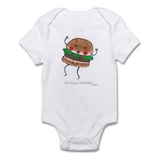 Happy Hamburger Infant Creeper