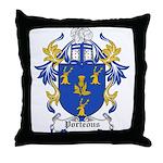 Porteous Coat of Arms Throw Pillow