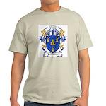 Porteous Coat of Arms Ash Grey T-Shirt