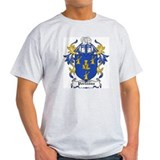 Porteous Coat of Arms Ash Grey T-Shirt