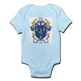 Porteous Coat of Arms Infant Creeper