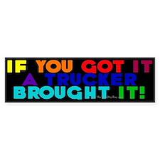 Rainbow Colors Bumper Bumper Sticker