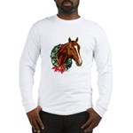 Horse and Wreath Long Sleeve T-Shirt