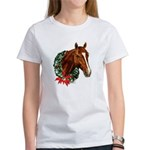 Horse and Wreath Women's T-Shirt