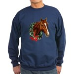 Horse and Wreath Sweatshirt (dark)