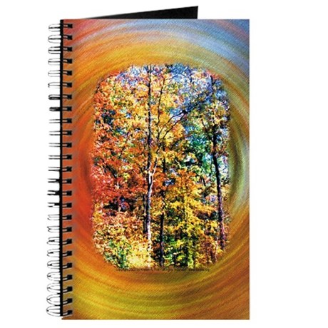 Autumn Trees Blank Journal