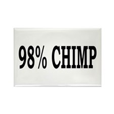 98% Chimp Rectangle Magnet