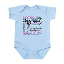 I Heart Rhythmic Gymnastics Infant Bodysuit