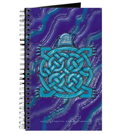 Celtic Turtle Blank Journal