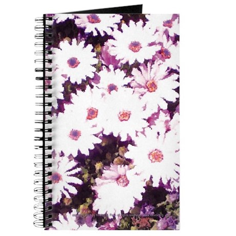 Daisy Painting Blank Journal