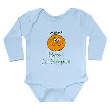 Papous Little Pumpkin Long Sleeve Infant Bodysuit