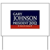 Unique Gary johnson Yard Sign